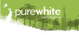Purewhite Creative Group logo.