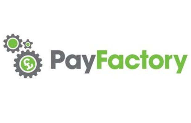 Calverton Finance's PayFactory logo.