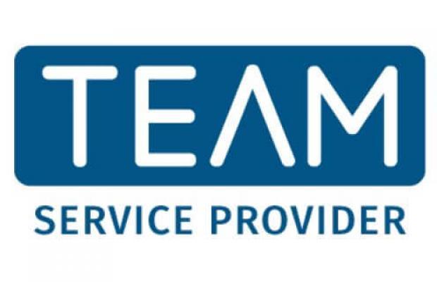 TEAM service provider logo.