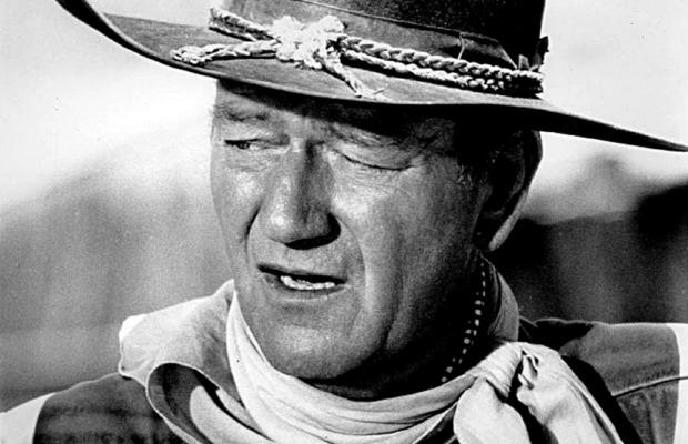 headshot of John Wayne.